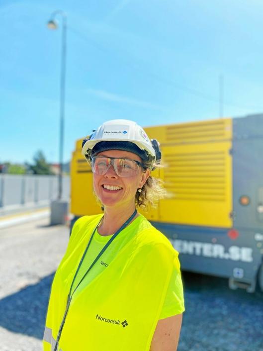 Katrine Bakke, miljørådgiver fra Norconsult.