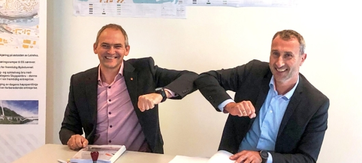 Skanska bygger Nydalsbrua i Trondheim