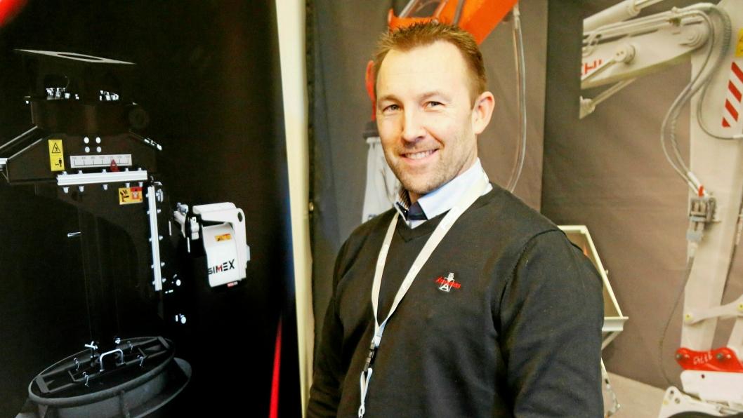 Morten Paulsen har jobber i Ankerkløkken Equipment AS i flere år. Nå er han blitt daglig leder i selskapet.