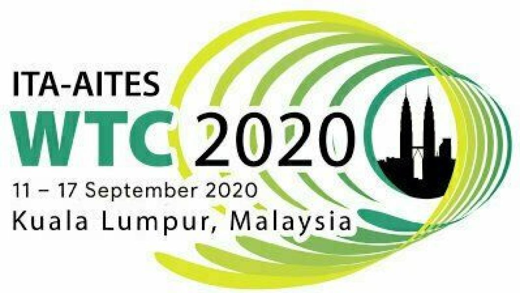 Årets World Tunnel Congress (WTC) skulle vært arrangert i Malaysia i mai , deretter i september og blir nå en digital konferanse.