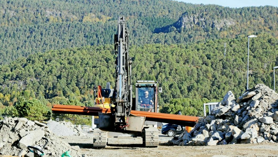 TØFFE TAK: Covid-19 har som forventet påvirket maskinsalget i Norge.