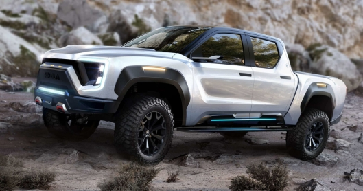 Bilen blir vist for publikum under Nikola World i Arizona i begynnelsen av desember.
