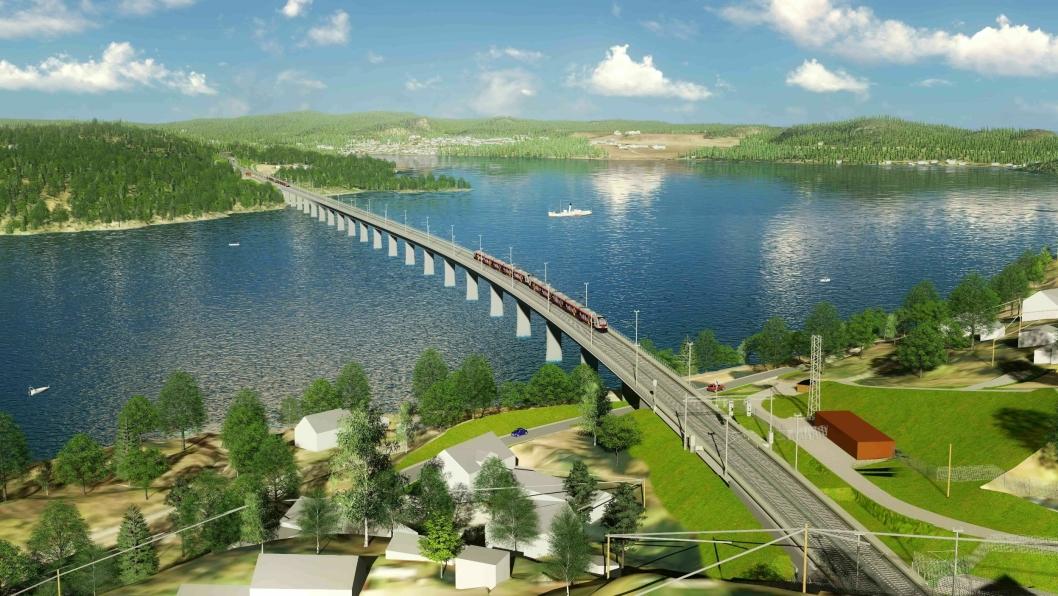 Den første kontrakten på Kleverud-Sørli er utlyst igjen, etter at alle kontraktene ble trukket tilbake på grunn av covid-19. Det er kontrakten til Tangenvika jernbanebru som er sendt ut i markedet denne uka.