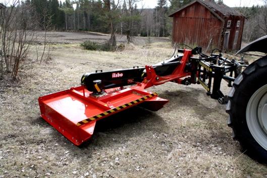 Ilsbo M150S med mekanisk drift for traktor.