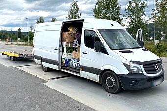 Fradømt førerretten i Norge i ett år