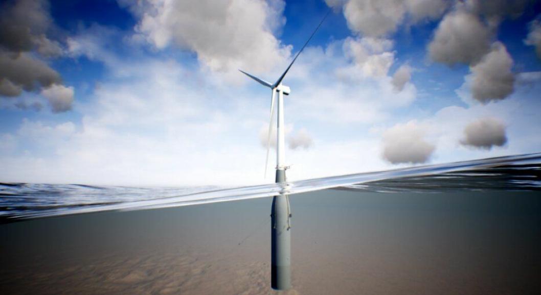 Betong levert av Ølen Betong skal holde de flytende vindturbinene på rett kjøl.