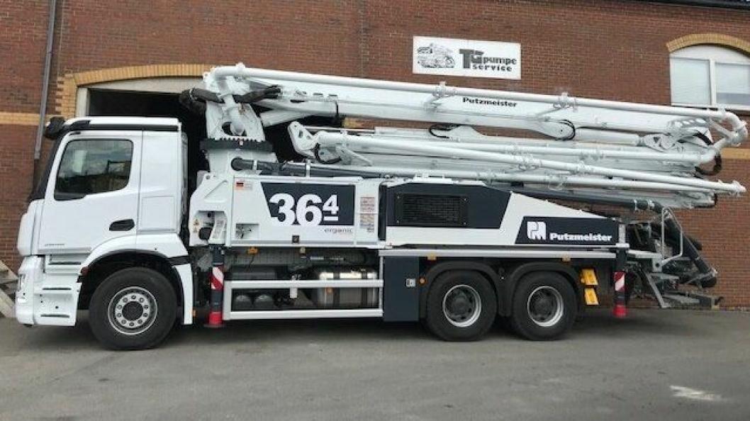 TG Pumpeservice AS er eneforhandler for Putzmeister betongpumper i Norge.