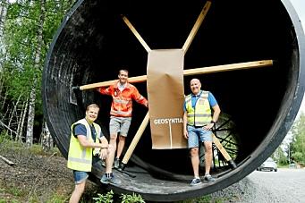 Skal grave ned Norges største rør under E18