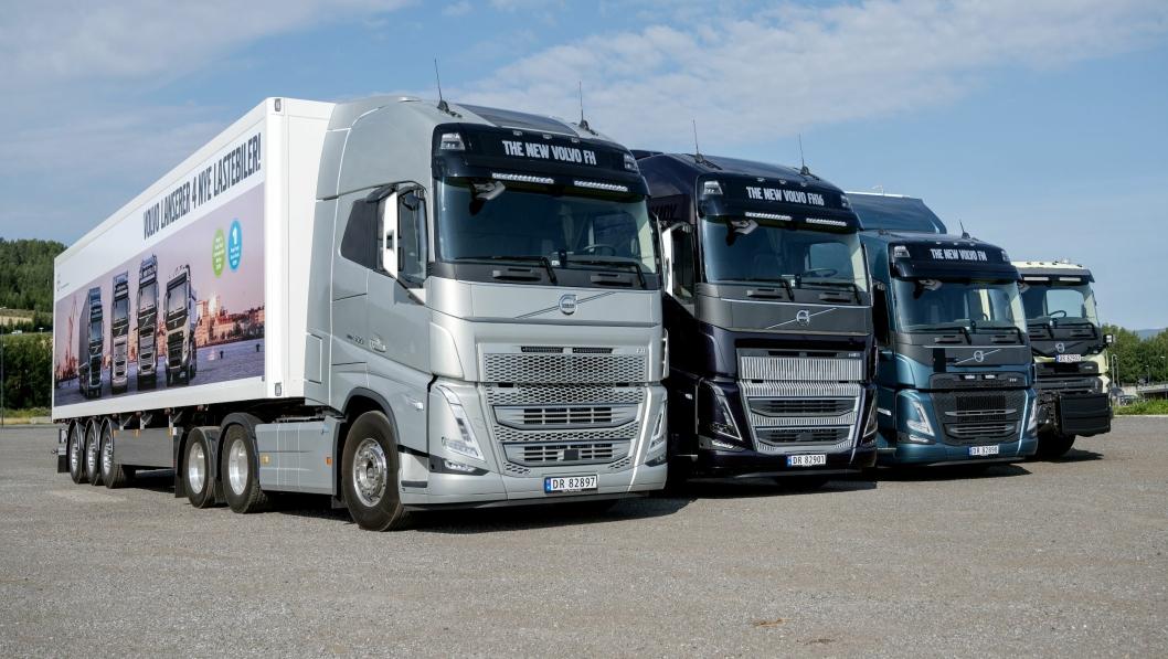 Første visning av nye Volvo FH, FH16, FM og FMX i Norge.