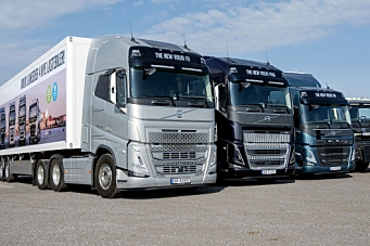 Volvos nye lastebilserier vist i Norge