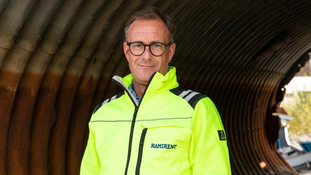 Fredrik Brandal går over i ny stilling hos Ramirent.