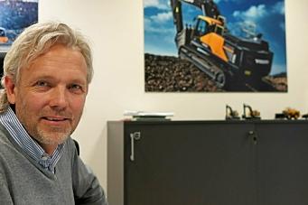 Skifte av toppsjef hos Volvo Maskin