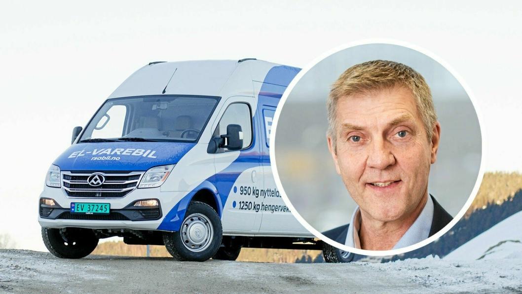 Teknisk direktør i BIL, Tore Lillemork, er skeptisk til de foreslåtte endringene i tilskuddet til kjøp av El-varebiler.
