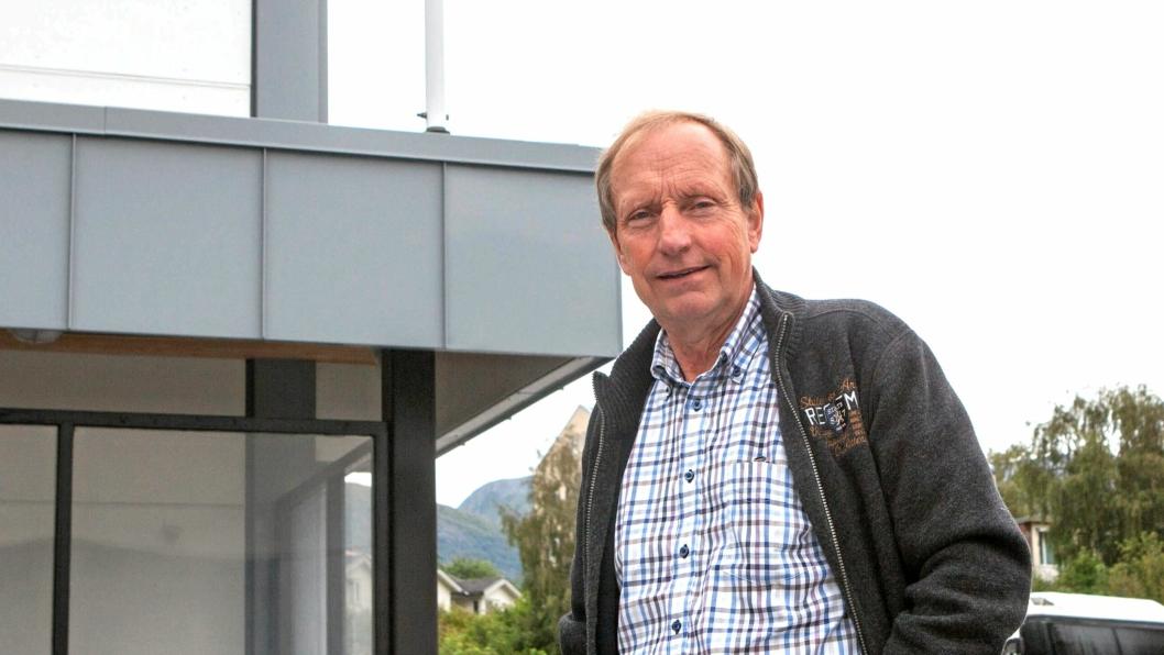 Daglig leder Arne Langseth i Veøy AS leder et selskap i stadig vekst.