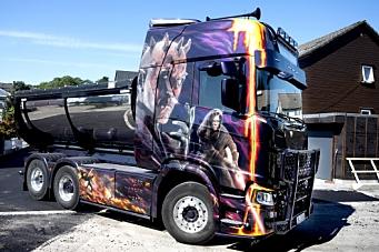 Scania R730 «Dark Lord»