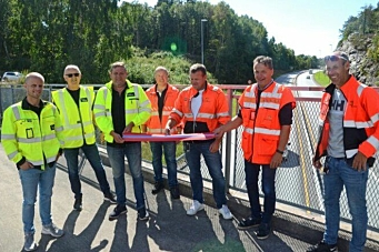 Presis Vegdrift startet drift av riksvei 41 og E18