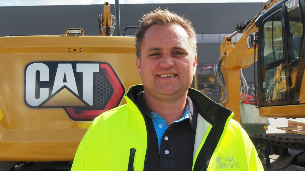 Etter 20 år hos Bertel O. Steen, skifter Ole-Martin Fossbråten arbeidsgiver til Pon Equipment AS.
