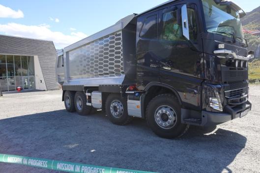 Med 38-tonns bakaksel kan FMX leveres med en teknisk totalvekt på hele 58 tonn.