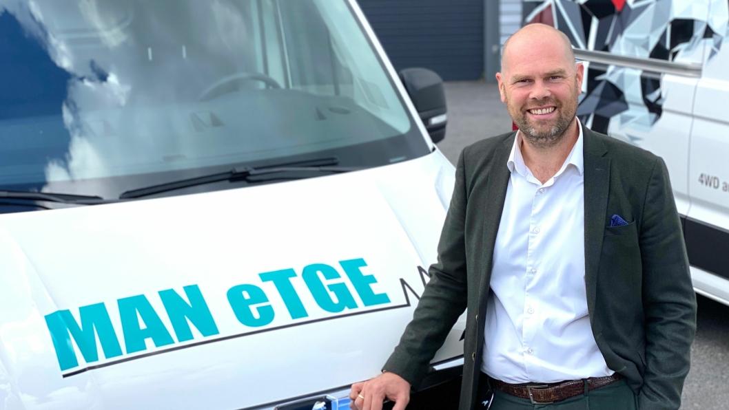 Christian Mundal Hagen er ny salgsdirektør for MAN TGE i Norge, fra 1. september 2020.