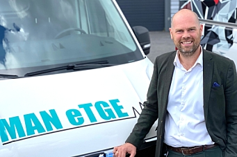 Ny salgsdirektør for varebil i MAN Truck & Bus Norge