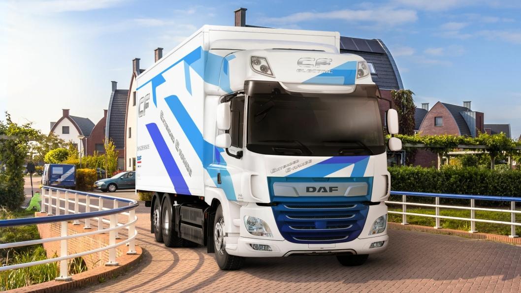 DAF Trucks tar det neste steget innen utvikling av elektriske drivverk ved å doble rekkevidden til DAF CF Electric til mer enn 200 kilometer.