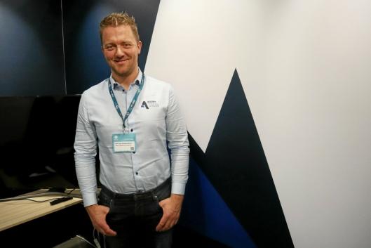 BYGGER OPP: Adm. direktør Kjell Vidar Hamre i Agder Tunnelservice, er glad for Normet-avtalen.