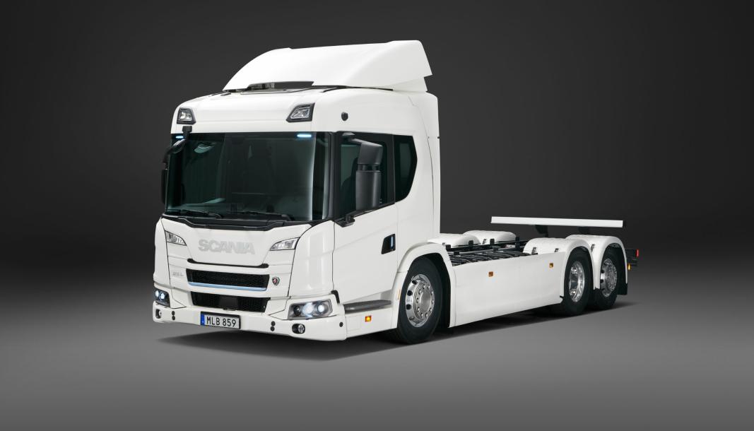 Scania 25 L batterielektrisk 6x2