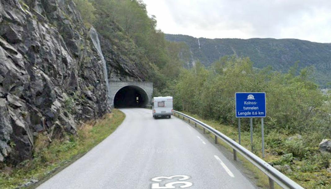Den avlyste konkurransen gjelder oppgradering av Steiggje-, Finnsås- og Kolnostunnelen på fv. 53 i Årdal (Vestland)