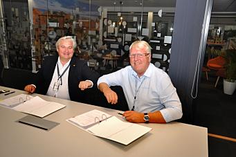Signerte E18 Vestkorridoren-kontrakt