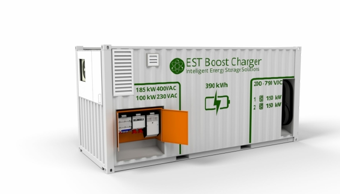 EST Boost Charter 390 kWt fra EST Floattech.