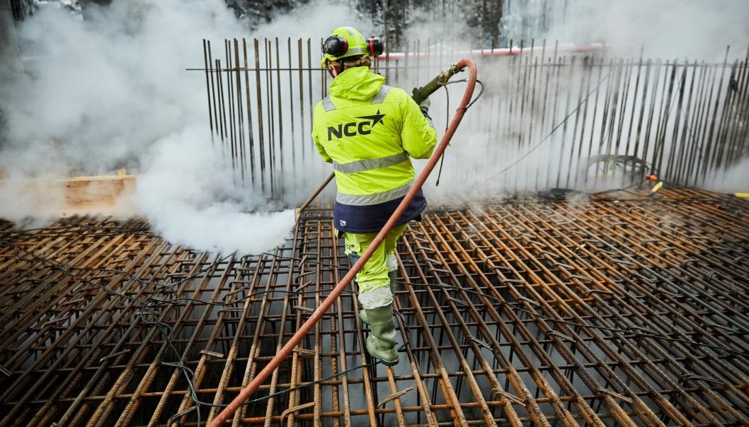 NCC har også utført arbeid for Bane Nor på jernbaneprojektet Loenga - Ekebergsen / Follobanen. Bildet er herfra.