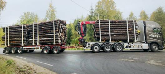 Vegvesenet inviterer transportører til 74 tonn-prøveordning