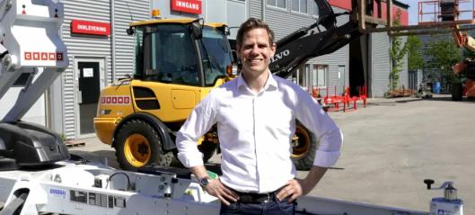 Thomas Astrup blir ny adm. direktør i Cramo