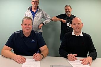 Isachsen Anlegg signerte fylkesvei-kontrakt