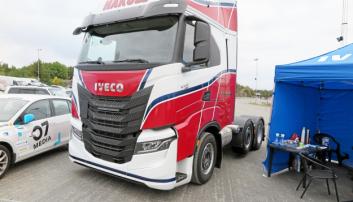 IVECO: Iveco S-Way 490 som skal leveres til H.K. Solberg er den første i Norge.