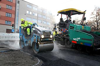 NCC asfalterer for Vestland fylkeskommune
