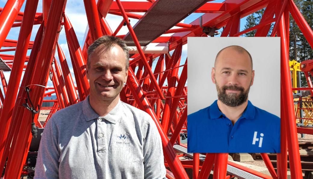 Daglig leder Espen Jensen i Craneway er glad for å ha en hovedeier som ønsker å satse på selskapet. Styreleder Lars Hæhre (innfelt bilde), som representerer hovedeier Hæhre & Isachsen Gruppen, ser frem til å styrke Craneways posisjon i markedet.