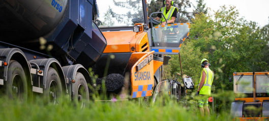 Skanska lanserer klimanøytral asfalt