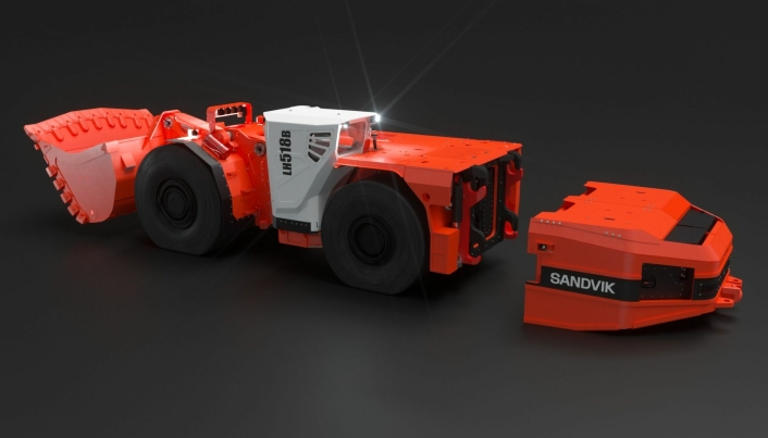 Batteribytte sørger for døgnkontinuerlig drift.