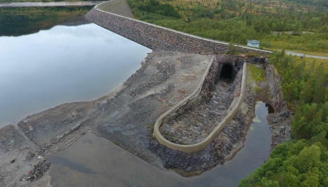 Dam Follsjø.