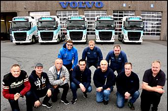 14 nye Volvo FH til Glacio Transport