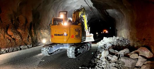 Åpner tunneler over E134 Haukelifjell igjen