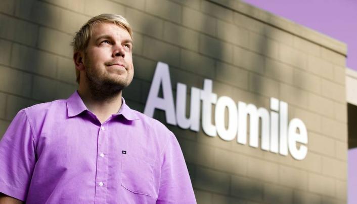 Jens Nylander er administrerende direktør og gründeren bak Automile.