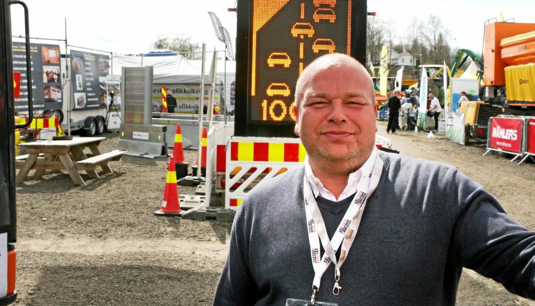 STYRELEDER: Kai V. Berg i Norsk Trafikksikring er styreleder i Bransjegruppe Arbeidsvarsling som er lagt under paraplyorganisasjonen Noorsi.