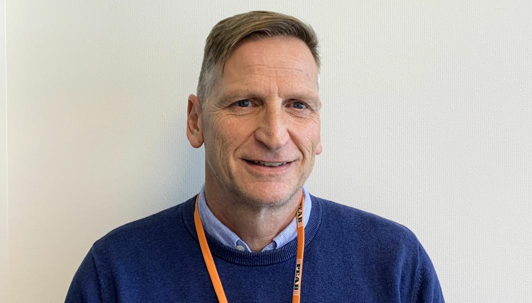 Christoph Hollenstein er ny distriktssjef for Peab Anlegg Vest.