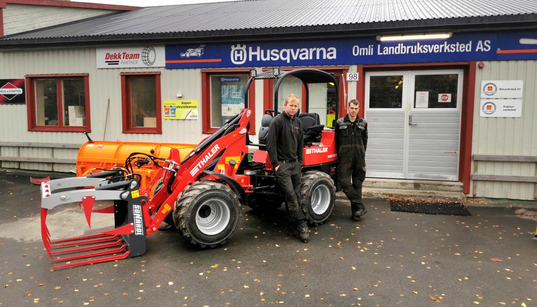 Omli Landbruksverksted AS er for forhandler av Thaler-maskiner.