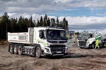 Starter med kundetesting av el-lastebiler for anleggsbransjen