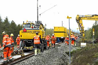 Jernbaneverket og Bane Nor vil sikre at prosjekter fullføres