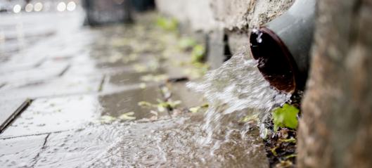 Cowi vant rammeavtale om overvannshåndtering