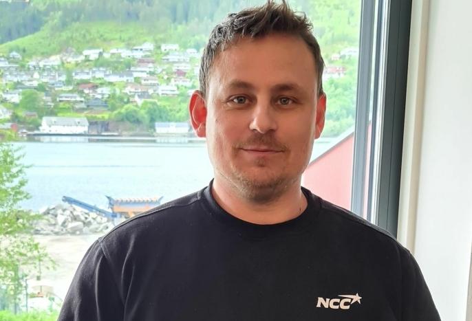 Distriktssjef i NCC Industry, Lasse Tefre.